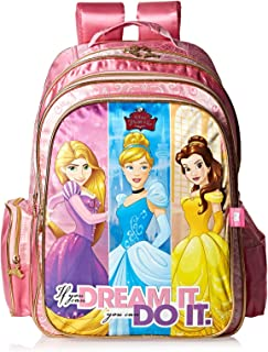 Disney Princess School Backpack for Girls - Pink