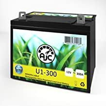 Yard Man 3400 Garden U1 Lawn Mower and Tractor Battery - This is an AJC Brand Replacement