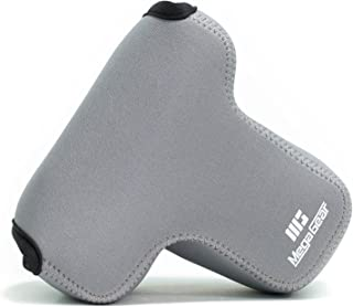 MegaGear MG1569 Ultra lekka neoprenowa obudowa na aparat kompatybilny z Sony Alpha A7 III, A7R III, A9 (28-70 mm) - szary