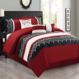 Best fashion street persia 7 piece embroidered comforter set Reviews
