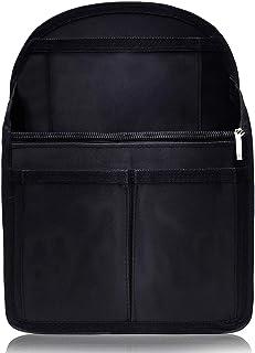 VILAU バッグインバッグ リュック 背面ポケットを大きく改良 トートバッグ 小型リュック用 PP底板付き 27cm×20cm×13cm