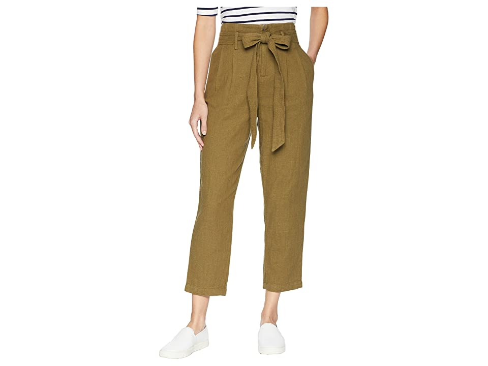 Image of AG Adriano Goldschmied Darena Pants (Olive Grove) Women's Casual Pants