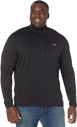 Cormac Zip Neck Long Sleeve