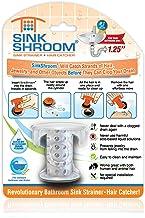 SinkShroom SSCLE988 O revolucionário protetor de ralo para pia capilar/coador/armadilha, transparente