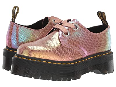 Dr. Martens Holly Quad Retro (Pink Iridescent Texture) Women