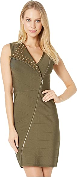 Joan Studded Bandage Dress