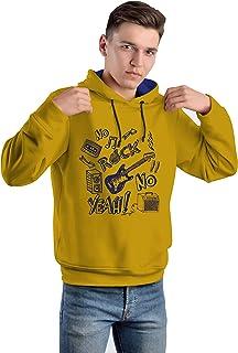ARIEL Boys' Cotton Hoodie / Sweatshirt /Full Sleeves Tshirt-Regular Fit Winter Jacket(Blue)