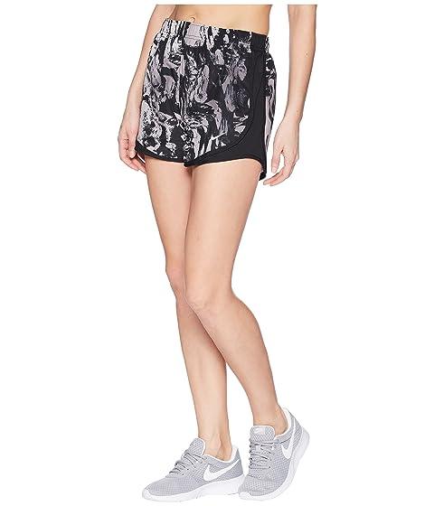 Pantalones Dry Tempo negro lobo con gris estampado Nike negro negro cortos 1OW1FPxnr