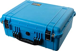 Blue & Black Pelican 1550 Case. Comes with Foam.