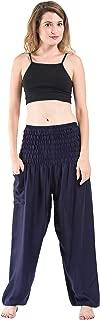 Harem Pants Unisex Solid Color Harem Pants for Men & Women