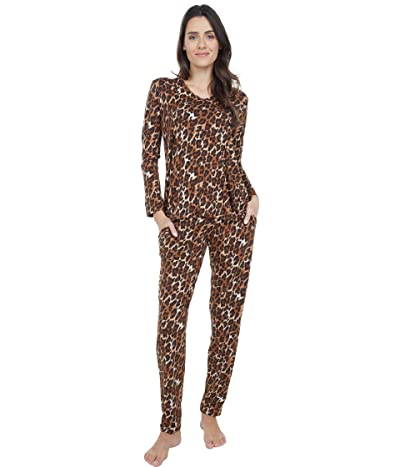 N by Natori Wild Instinct PJ Set (Natural Combo) Women