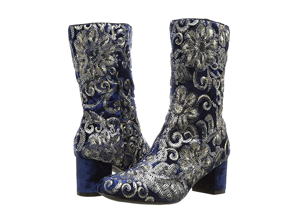 Image of Amiana 15-A5492 (Little Kid/Big Kid/Adult) (Black Fleur Sequins) Girl's Shoes