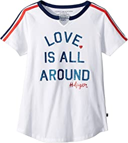 Tommy Hilfiger Kids - Love Tee (Big Kids)