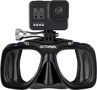 OCTOMASK - سازگار با ماسک Gopro - شیرجه برای غواصی و غواصی