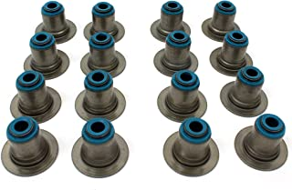 New VSS1010 VITON Valve Stem Seal Set (16v) For 2001-16 GM V8 VORTEC 4.8L 5.3L 6.0L 6.2L Chevrolet Silverado GMC Savana Sierra Yukon Isuzu Ascender