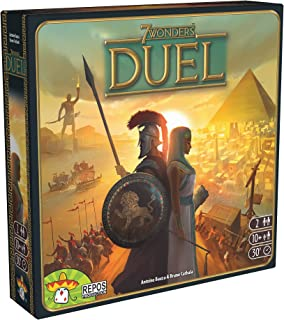 7 Wonders Duel Board Game (BASE GAME) | Board Game for 2 Players | Strategy Board Game | Civilization Board Game | Fun Boa...