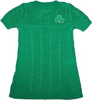 Creative Knitwear Irish Baby Shamrock Sweater Dress