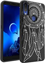 Sponsored Ad - CasesOnDeck Fitted Case Compatible with [Alcatel 3V (2019) by Metro (6.7 Inch Screen)] [Embossed Duo] Black...
