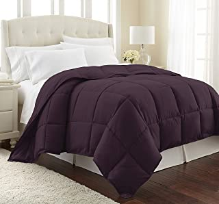 Southshore Fine Linens - Vilano Springs - Down Alternate Weight Comforter - Eggplant Purple - King/California King