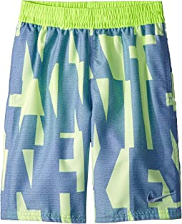 "8"" Vector Lap Volley Shorts (Big Kids)"