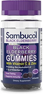 Sambucol Black Elderberry Gummies 30 ct