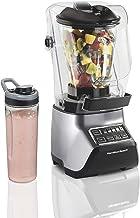 Hamilton Beach Quiet Blender, 55% Less Noise, 950 Peak Watts, 3 Presets Smoothie Ice Crush, 1.5L Food & Drink Glass Jar, 0...