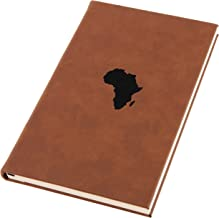 Africa Engraved A5 Leather Journal, Notebook, Personal Diary