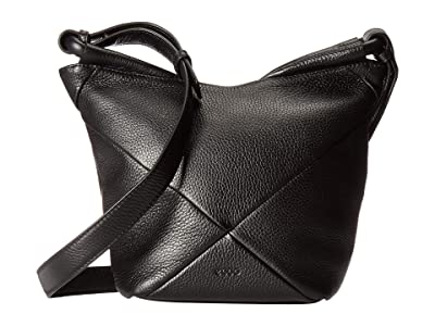 ECCO Linnea Crossbody (Black) Cross Body Handbags