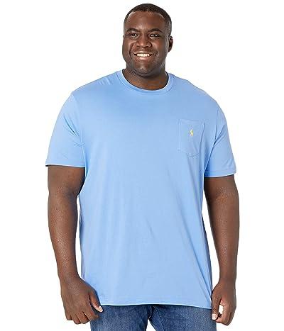 Polo Ralph Lauren Big & Tall Big Tall 26/1 Jersey Short Sleeve Classic Fit T-Shirt (Cabana Blue/C1229) Men