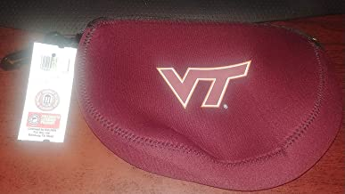 Kolder Neoprene Zippered Grab Bag or Electronic Cable Bag - Virginia Tech University (Hokies) (Officially Licensed Collegiate Products)
