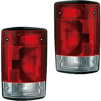 IPCW LEDT-360CB Bermuda Black Fiber Optic and LED Tail Lamp Pair 03-00-LEDT-360CB