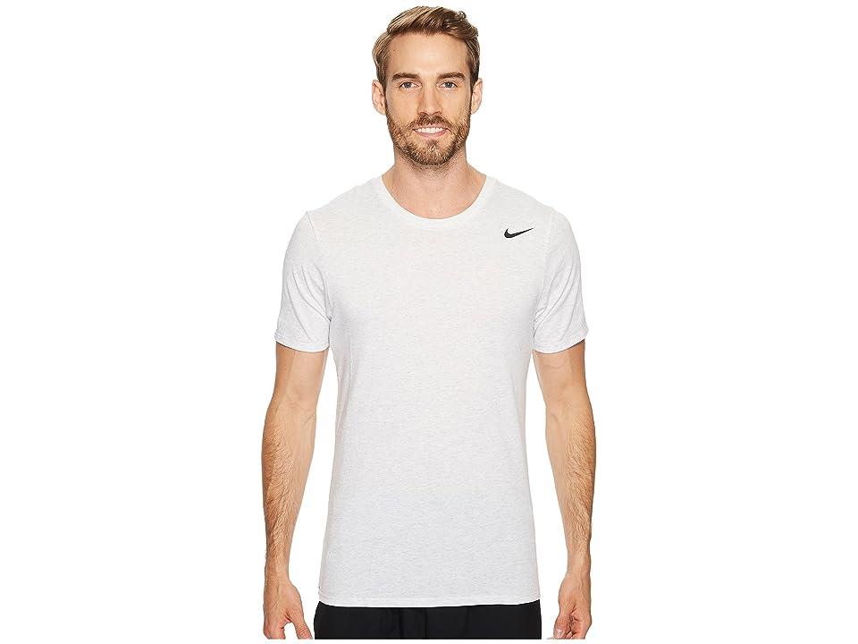 Nike Dri-FITtm Version 2.0 T-Shirt (Birch Heather/Birch Heather/Black) Men