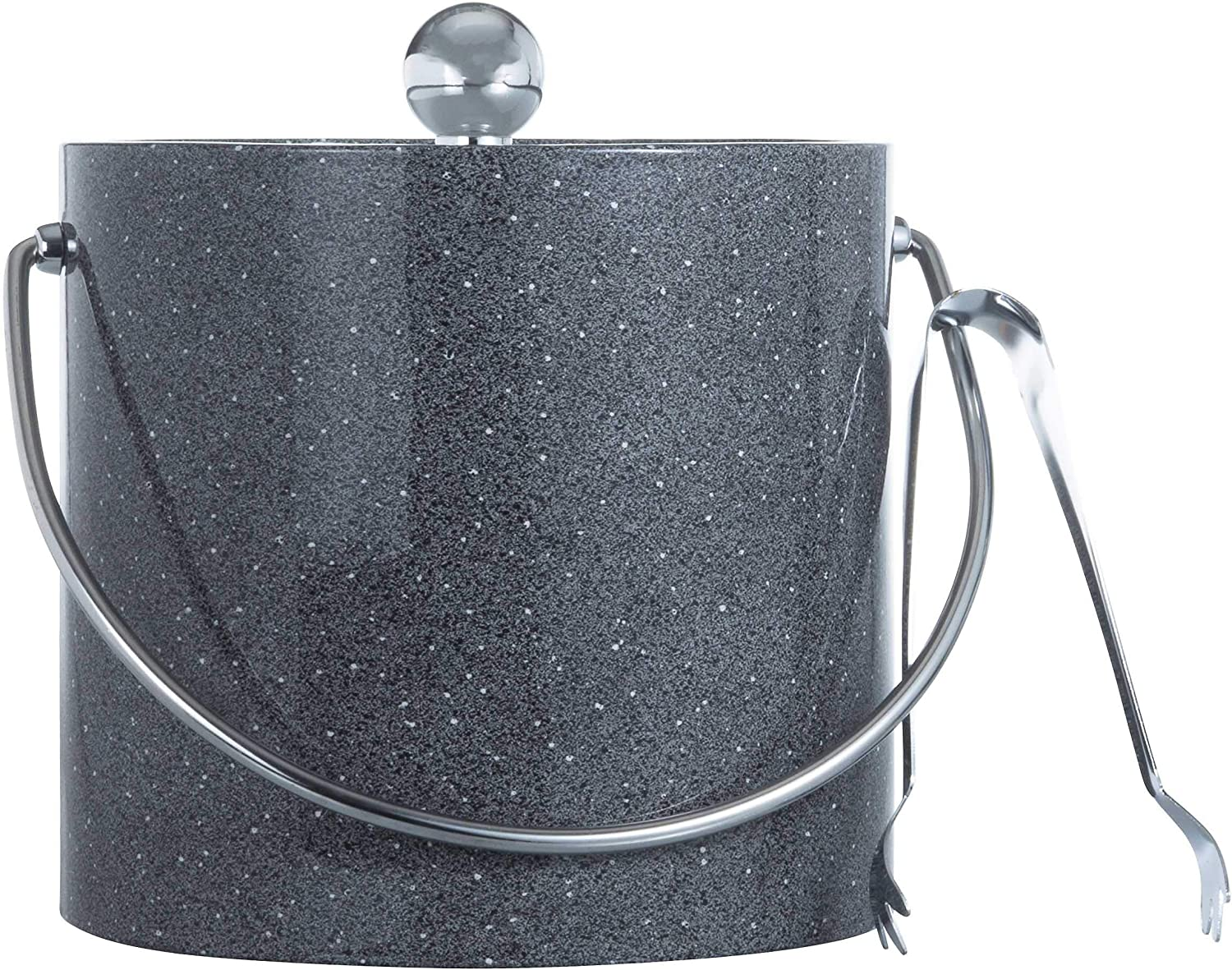 Finally popular brand Hand Made In Shipping included USA Granite Gray Insulated Walled 3-Quart Double Ic