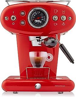 Illy Metodo X1Anniversary Espresso ve Kahve Kapselmaschine, paslanmaz çelik, kırmızı
