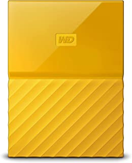 WD 2TB Yellow My Passport Portable External Hard Drive - USB 3.0 - WDBS4B0020BYL-WESN