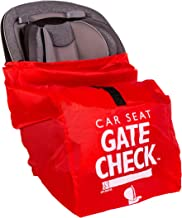 Best J.L. Childress Gate Check Bag for Car Seats - Air Travel Bag - Fits Convertible Car Seats, Infant carriers & Booster Seats, Red Reviews