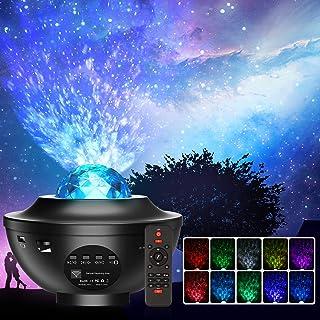 Projecteur Ciel Etoile, Planetarium Projecteur LED Veilleuse Enfant Rotatif 21 Modes, Océan Starry Lampe Projecteur Lumino...