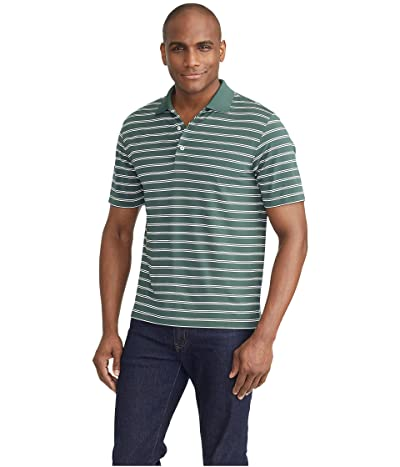 UNTUCKit The Luxe Performance Polo (Dark Green) Men