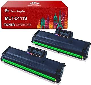 MLT-D111S Toner Kingdom Compatible Cartucho de Toner para Samsung MLT D111S para Samsung Xpress M2026W M2026 M2070W M2070 M2020 M2020W M2022 M2022W M2070FW (Negro, 2 Paquetes)