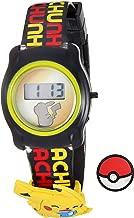Pokemon Pokemon Kids' POK3085 Digital Display Quartz Black Watch