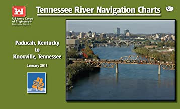 Tennessee River Navigation Charts - Paducah, Kentucky to Knoxville, Tennessee