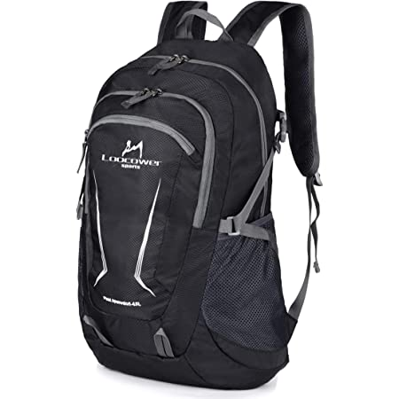 Multifunktionale Tagesrucksack Faltbare Camping Trekking Rucks/äcke Loocower 45L Leichte Packable Reiserucksack Wanderrucksack Utra Leicht Outdoor Sport Rucks/äcke Tasche