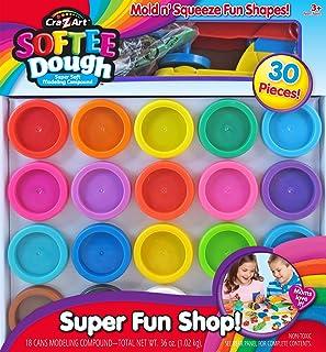 Cra-Z-Art Super Rainbow Softee Dough Color Pack Set (30-Piece)