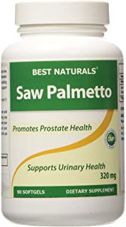 Best Naturals Saw Palmetto Extract - Healthy Prostate Function - 320 mg 90 Capsules