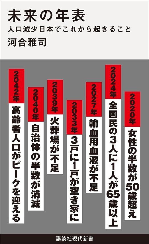 パッド手のひらグリル未来の年表 人口減少日本でこれから起きること (講談社現代新書)