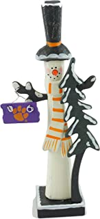 Hanna's Handiworks Clemson University Snowman Figurine (Top Hat)