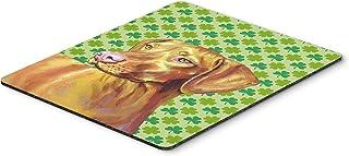 Caroline's Treasures Mouse/Hot Pad/Trivet, Vizsla St. Patrick's Day Shamrock Portrait (LH9190MP)
