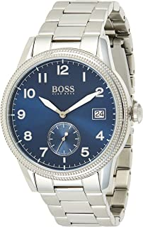 Hugo Boss Mens Quartz Wrist Watch, Chronograph and Stainless Steel- 1513707