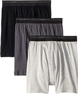 0c8a37e0478e Black/Trusted Pewter/Grey Heather. 2. Jockey. Breathable Mesh Cotton  Classic Boxer Brief 3-Pack. $27.95. 5Rated 5 stars ...