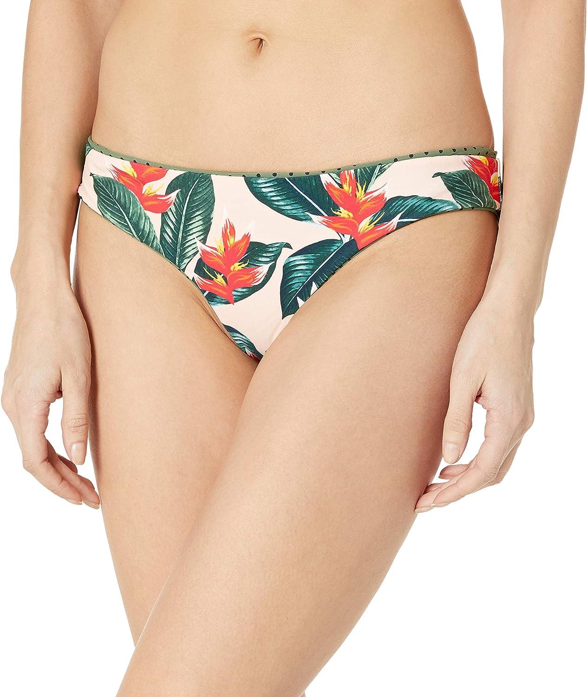 Body Glove Women's Lola Low Rise Cheeky Bikini Bottom Swimsuit